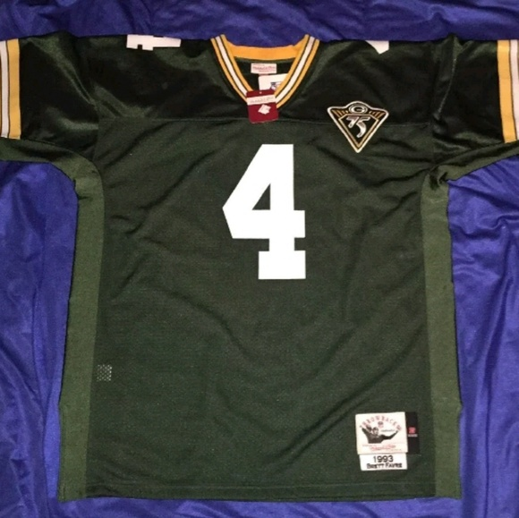 pretty nice 4a322 40724 1993 Brett Favre Green Bay Packers AuthenticJersey NWT